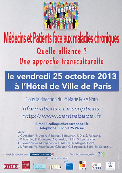 Médecins et patients face aux maladies chroniques : quelle alliance ? une approche transculturelle