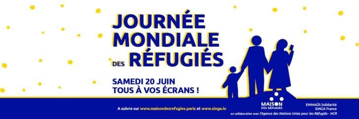 #SaveTheDate en live le 20 juin à la Maison des refugiés