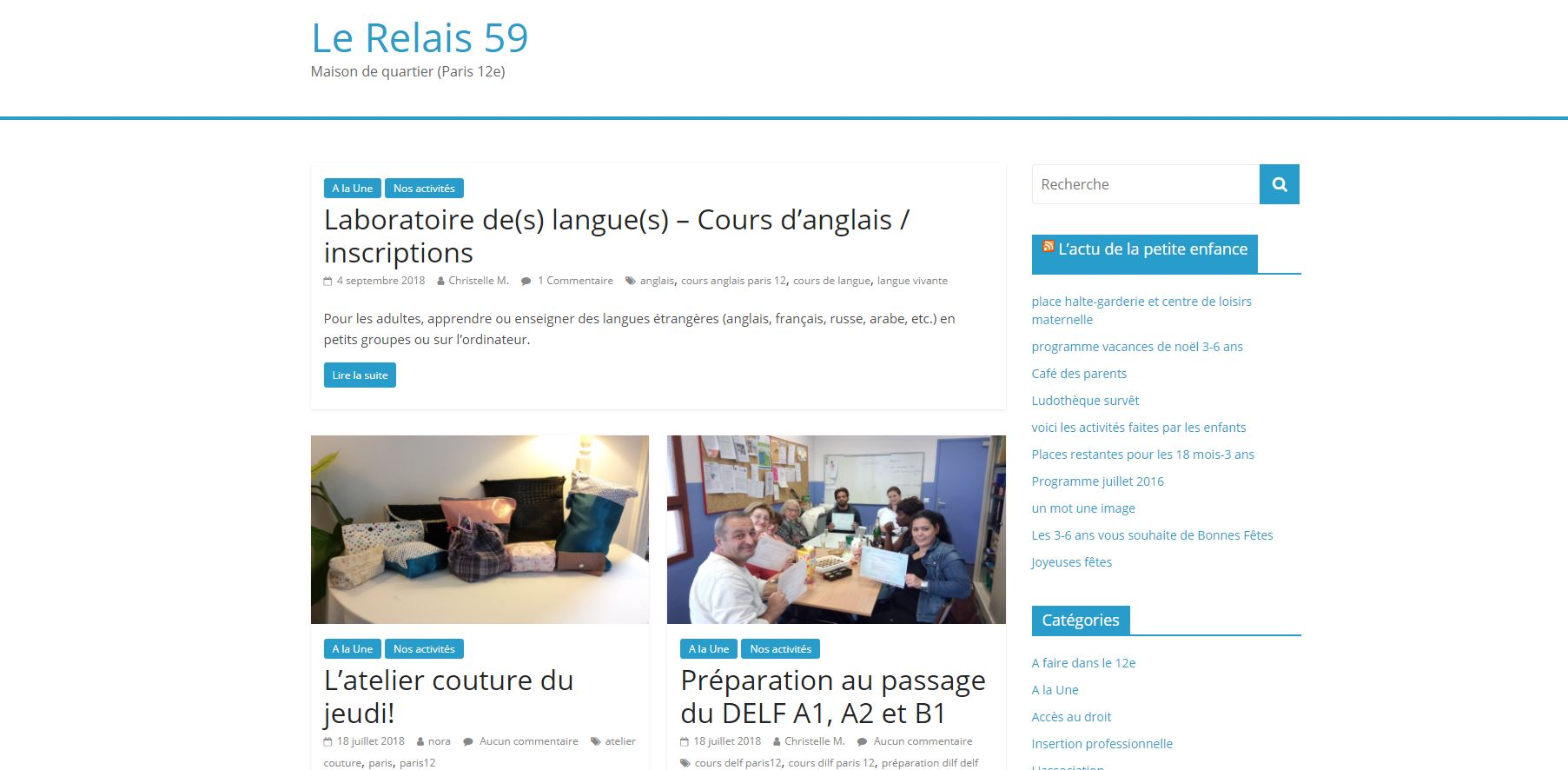 Centre socio-culturel Relais 59