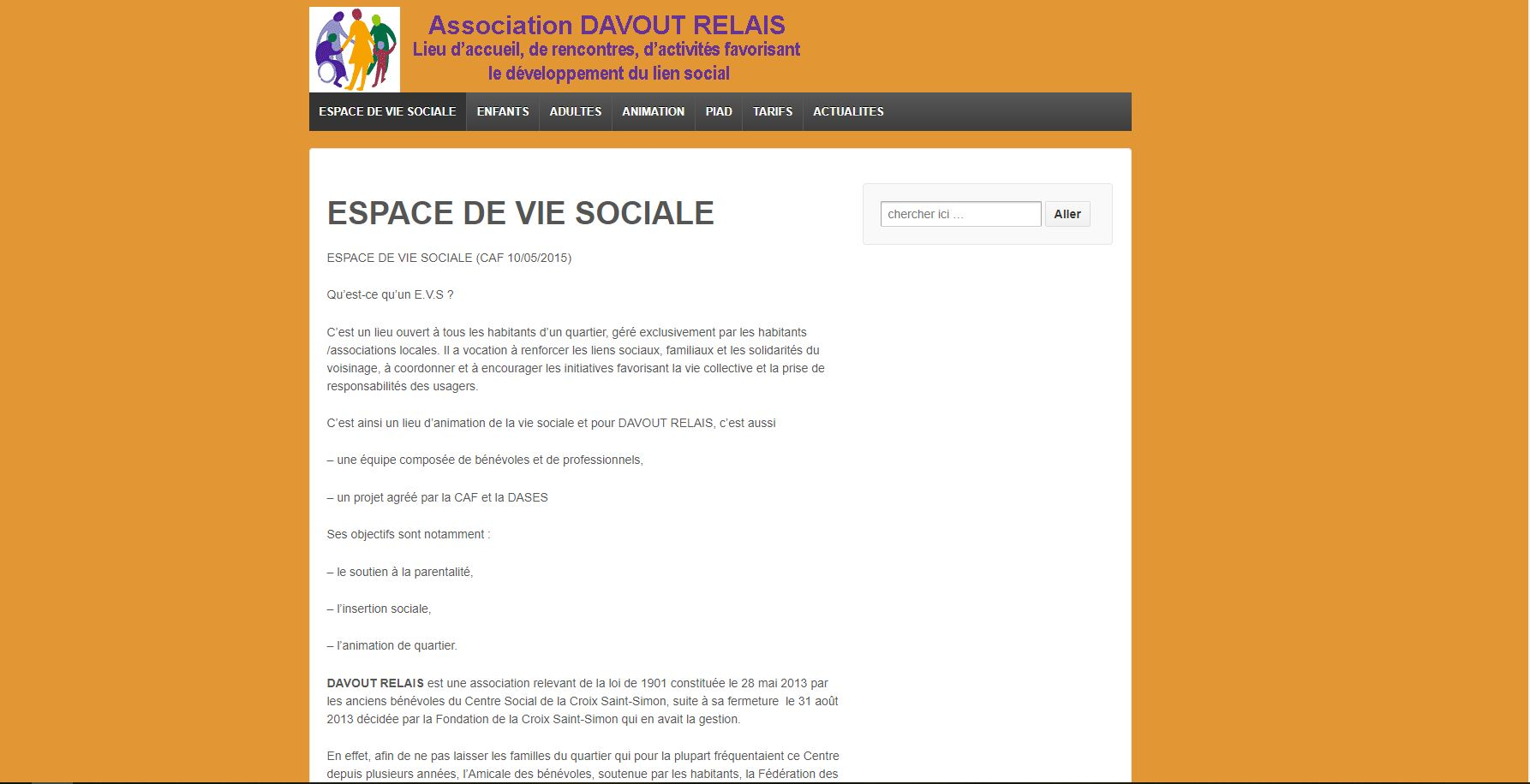 Association Davout Relais