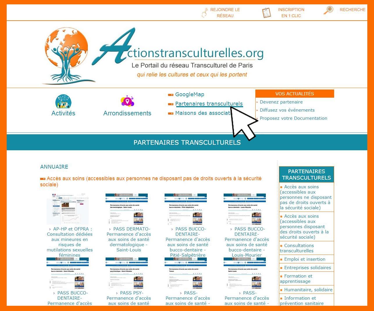 Vos partenaires sont sur Actionstransculturelles.org