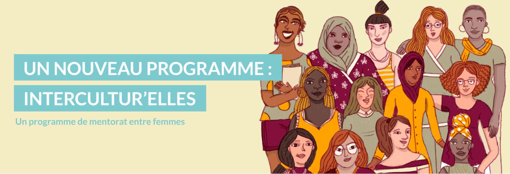 Intercultur'elles - Programme de mentorat entre femmes - UniR