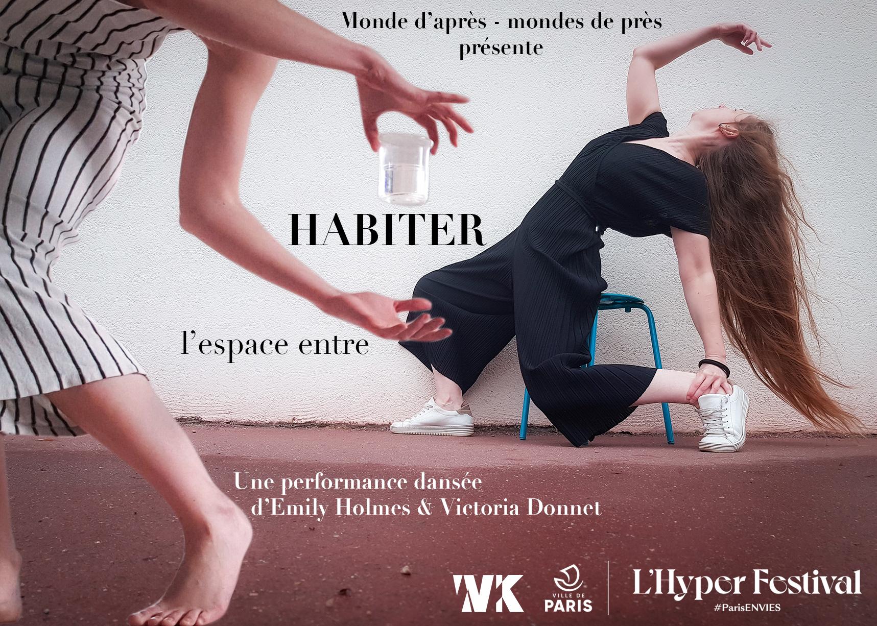 Habiter l'espace entre - Une performance dansée