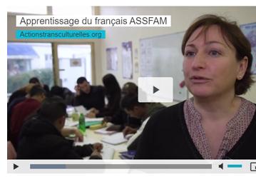 Apprentissage du français ASSFAM