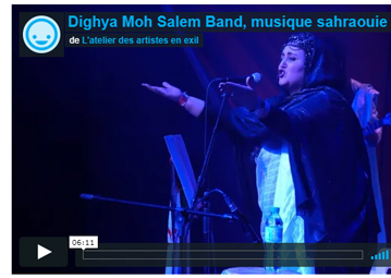 Dighya Moh Salem Band, musique sahraouie