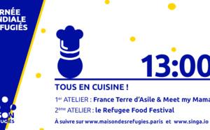 Cours de cuisine par France Terre d'Asile et Meet my Mama