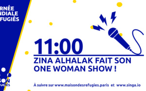 "One Woman Show de Zina Alhalak, ""La fenêtre"" de Abdulmajeed Haydar"