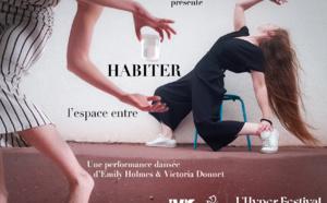 Performance dansée - Habiter l'espace entre