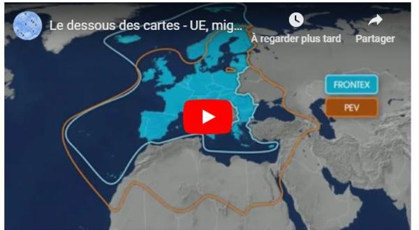 Le dessous des cartes - UE, migrants, frontières