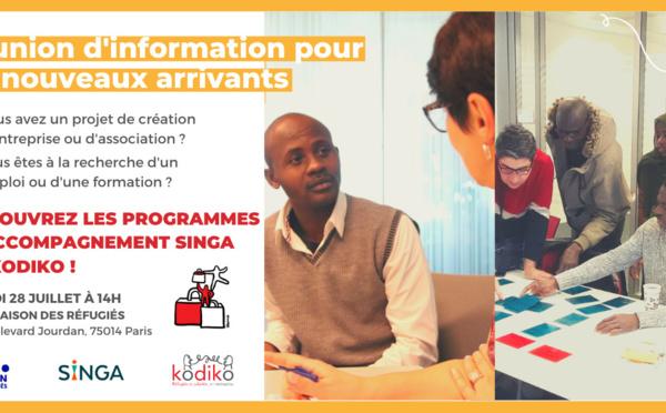 Découvrez les programmes d'accompagnement SINGA et KODIKO