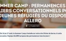 SUMMER CAMP : Permanences et ateliers conversationnels pour les jeunes réfugiés du dispositif ALLERO